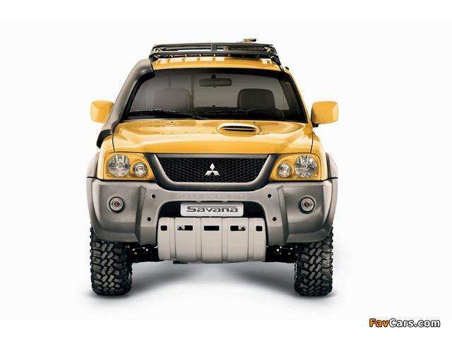 Photos of Mitsubishi L200 Savana 2008 (640 x 480)