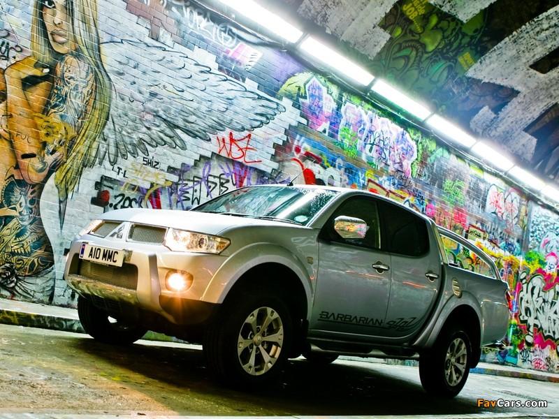 Photos of Mitsubishi L200 Barbarian 2010 (800 x 600)