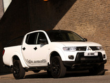 Photos of Mitsubishi L200 Barbarian Black 2012