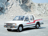 Pictures of Mitsubishi L200 Double Cab 1986–96