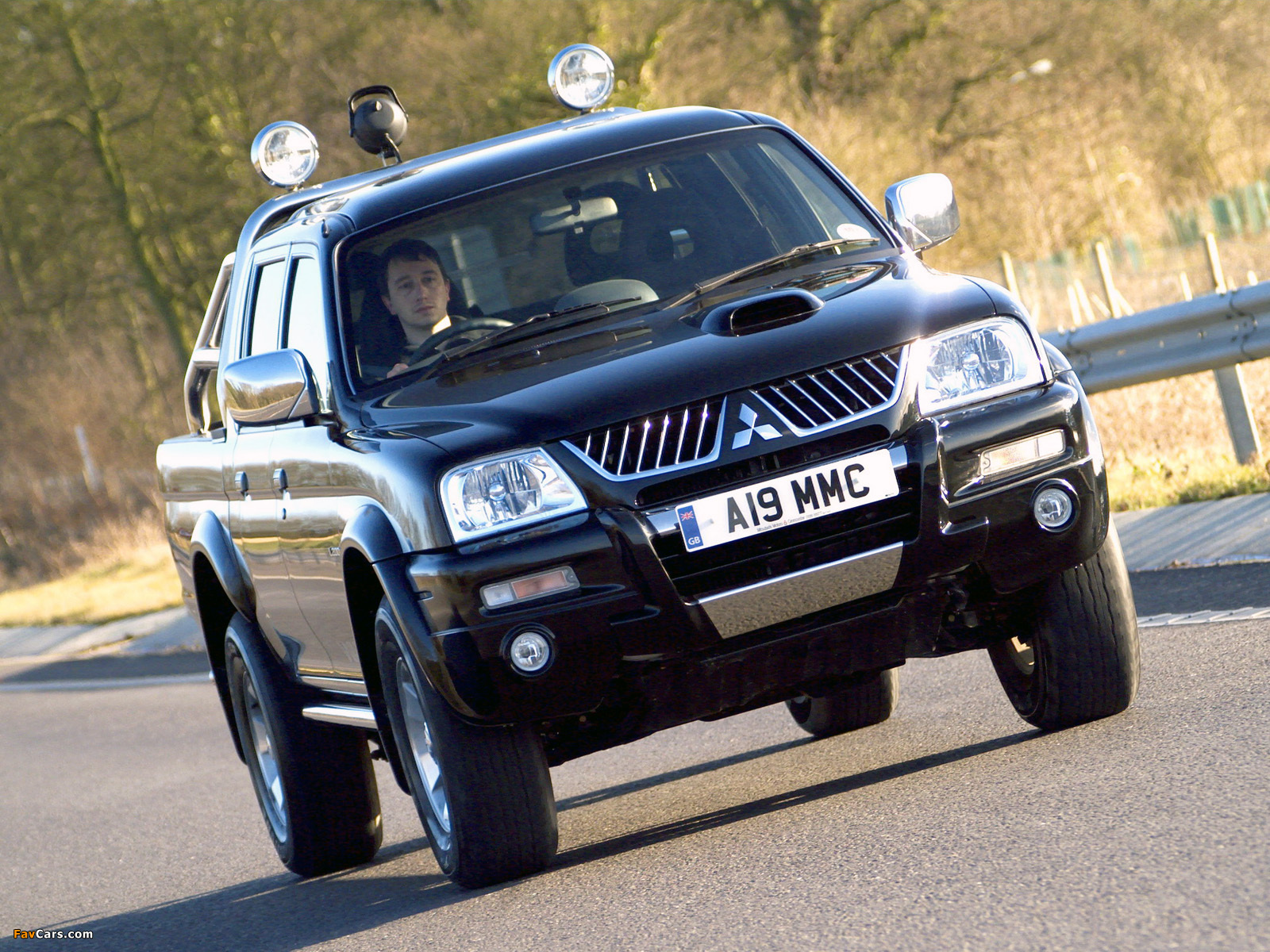 Pictures of Mitsubishi L200 Double Cab Warrior 2005–06 (1600 x 1200)