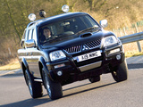 Pictures of Mitsubishi L200 Double Cab Warrior 2005–06