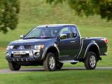 Pictures of Mitsubishi L200 Club Cab Warrior 2006–10