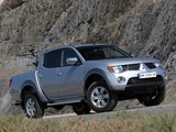 Pictures of Mitsubishi L200 4Life Double Cab 2006–10
