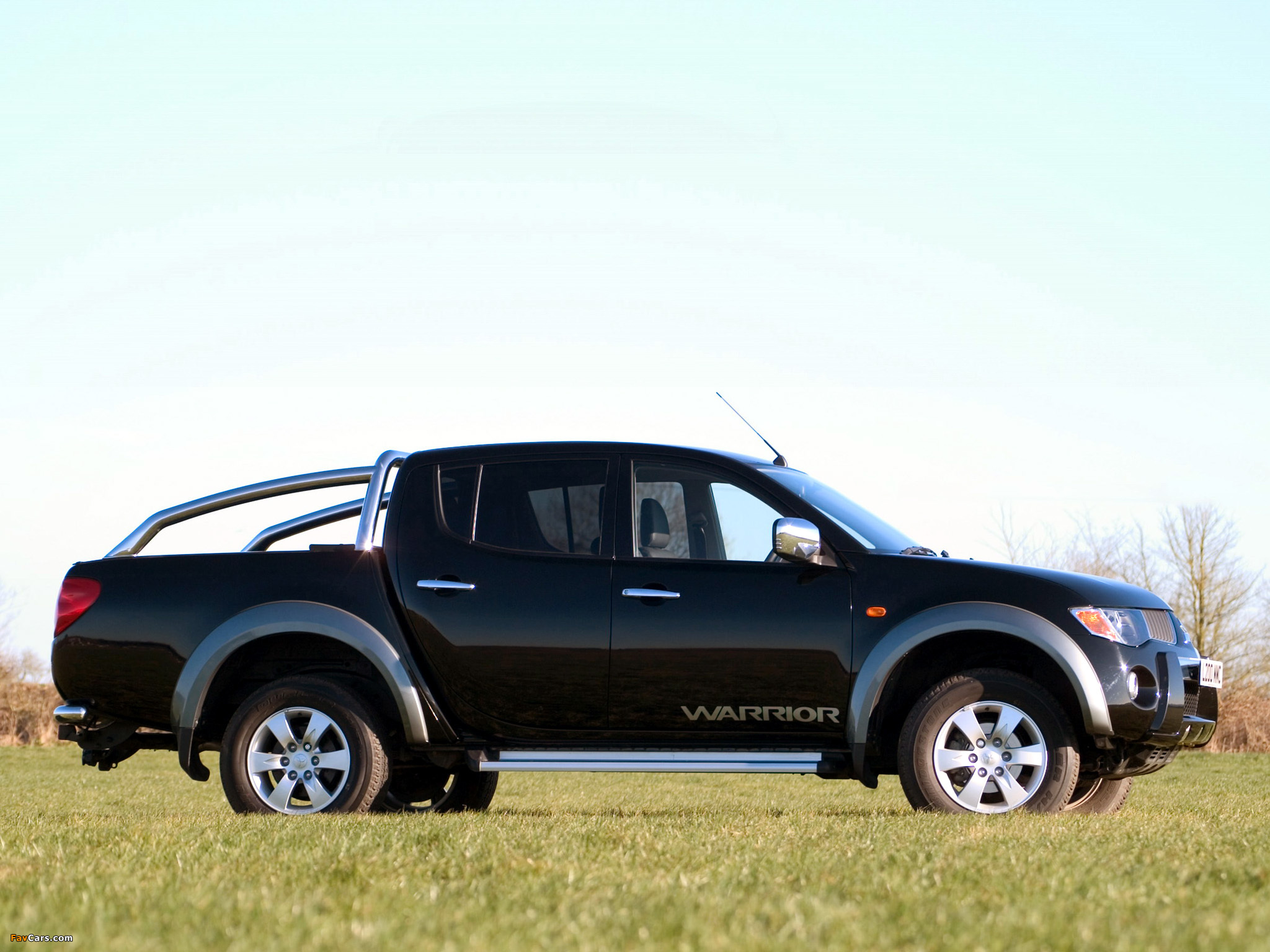 Pictures of Mitsubishi L200 Double Cab Warrior 2006–10 (2048 x 1536)