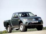 Pictures of Mitsubishi L200 4Life Club Cab UK-spec 2006–10