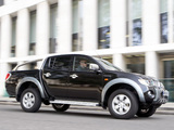 Pictures of Mitsubishi L200 4Life Double Cab UK-spec 2006–10