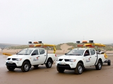 Pictures of Mitsubishi L200 Beach Lifeguards 2006–10