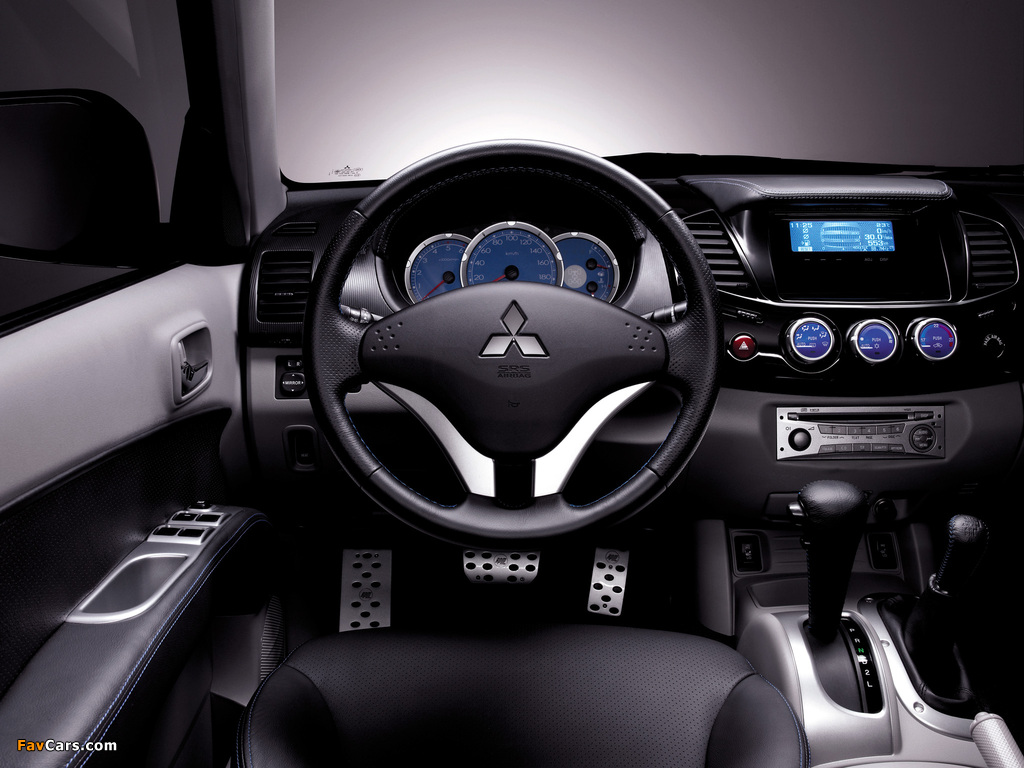Pictures of RPM Mitsubishi L200 Double Cab 2008 (1024 x 768)