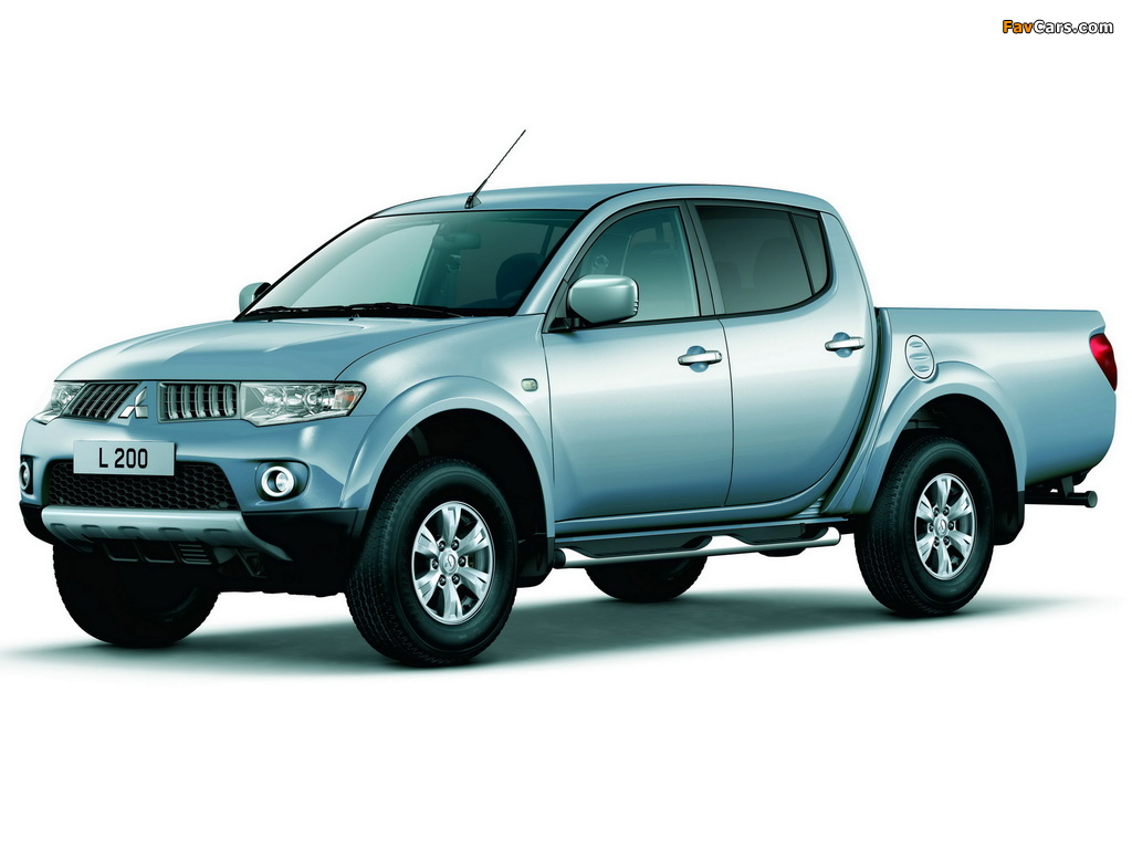 Pictures of Mitsubishi L200 4Life Double Cab 2010 (1024 x 768)
