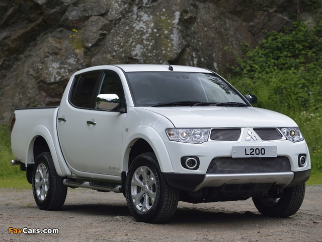 Pictures of Mitsubishi L200 Barbarian 2010 (640 x 480)
