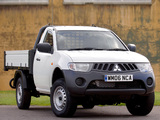 Mitsubishi L200 Tipper UK-spec 2006–10 wallpapers