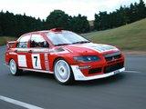 Images of Mitsubishi Lancer Evolution VII WRC 2001–03