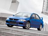 Images of Mitsubishi Lancer Evolution IX UK-spec 2005–07