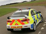 Images of Mitsubishi Lancer Evolution X Police 2008