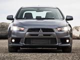 Images of Mitsubishi Lancer Evolution MR US-spec 2008