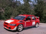 Images of Mitsubishi Lancer Evolution VII WRC 2001–03