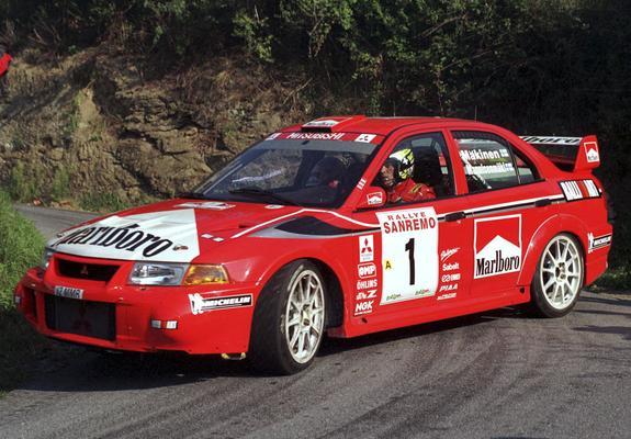 Mitsubishi Lancer Evo 5 Gsr Rs Teile 390ps: Mitsubishi Lancer RS Evolution VI Gr.A WRC 1999 Images