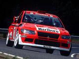 Mitsubishi Lancer Evolution VII WRC 2001–03 images