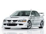 VeilSide Mitsubishi Lancer Evolution VIII 2003–05 pictures