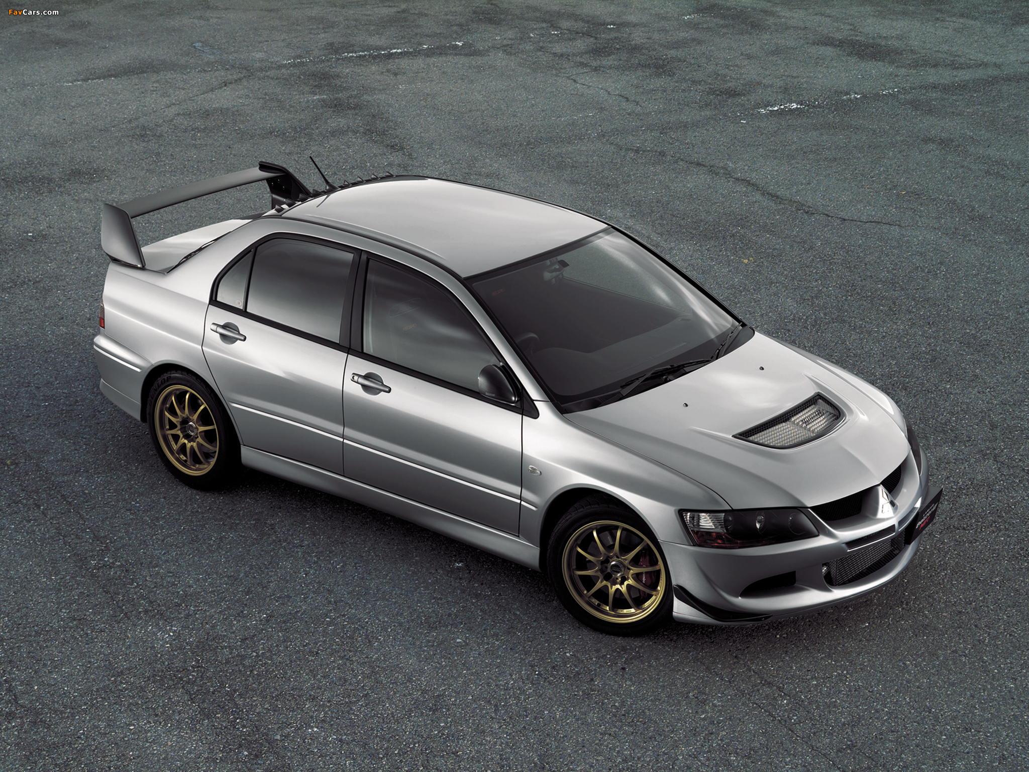 ralliart mitsubishi lancer gsr evolution viii mr ct9a