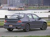 Mitsubishi Lancer Evolution VIII MR US-spec 2005–06 images