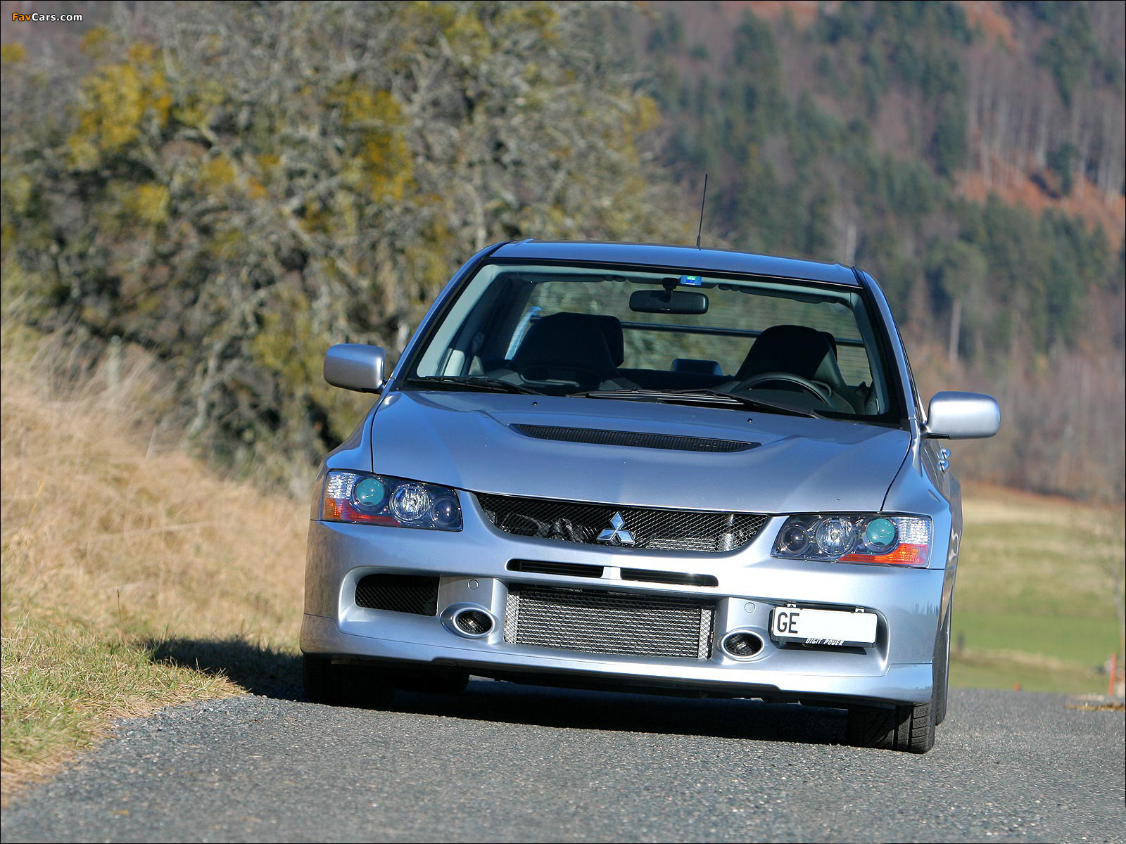 Mitsubishi Lancer Evolution IX 2005–07 images (1600 x 1200)