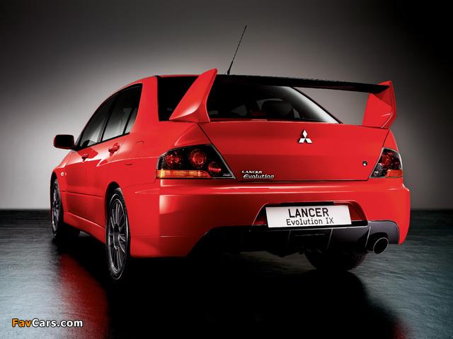 Mitsubishi Lancer Evolution IX 2005–07 images (640 x 480)