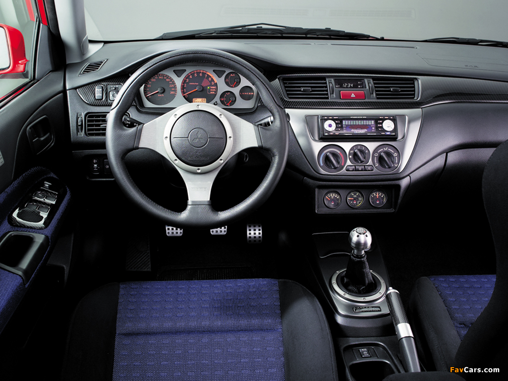 Mitsubishi Lancer Evolution IX 2005–07 images (1024 x 768)
