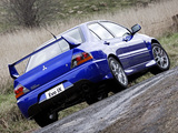 Mitsubishi Lancer Evolution IX UK-spec 2005–07 photos