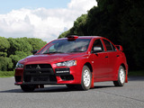 Mitsubishi Lancer Evolution X Group N 2007 pictures