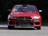 Mitsubishi Lancer Evolution X Group N 2007 wallpapers