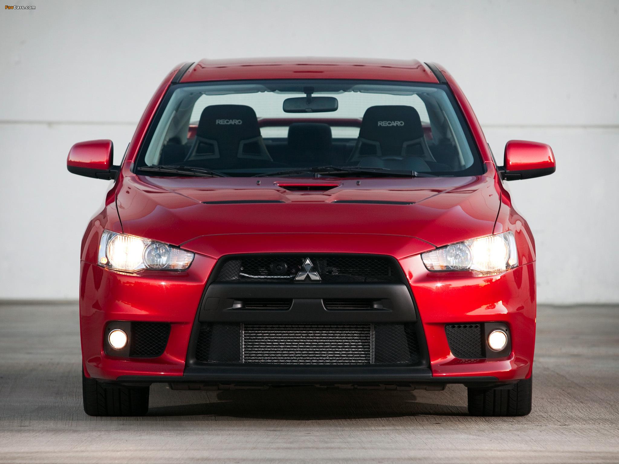 Mitsubishi Lancer Evolution GSR US-spec 2008 photos (2048 x 1536)