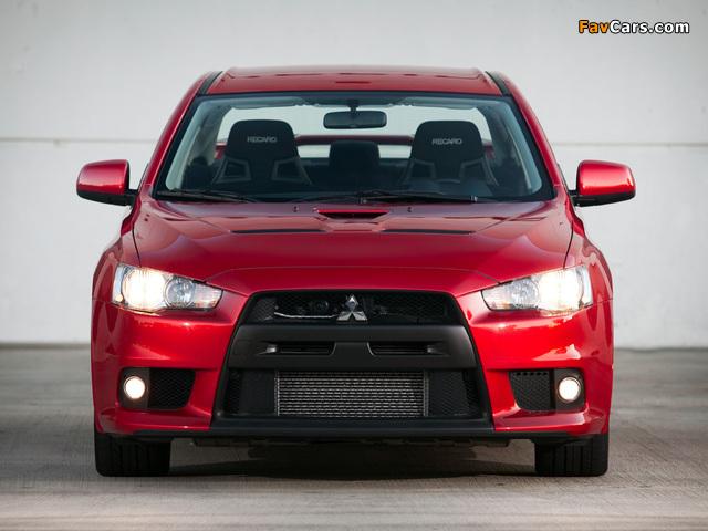 Mitsubishi Lancer Evolution GSR US-spec 2008 photos (640 x 480)