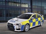 Mitsubishi Lancer Evolution X Police 2008 photos