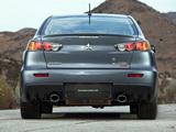 Mitsubishi Lancer Evolution MR US-spec 2008 pictures