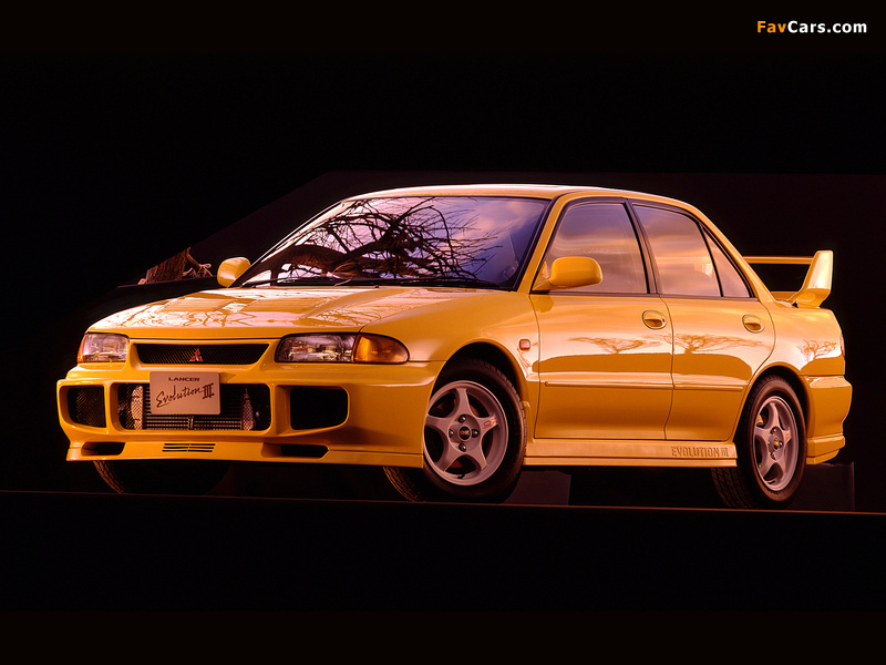 Mitsubishi Lancer GSR Evolution III (CE9A) 1995 wallpapers (800 x 600)
