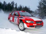 Mitsubishi Lancer Evolution VII WRC 2001–03 photos