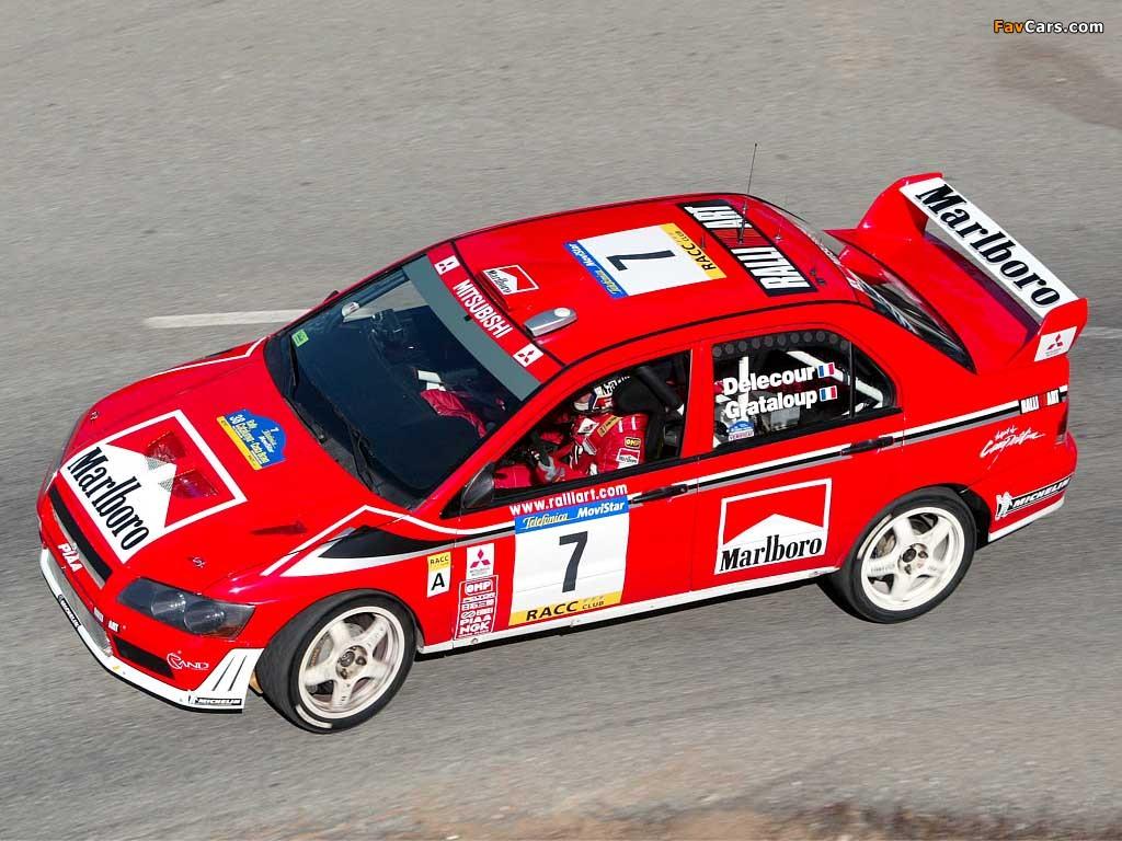 Mitsubishi Lancer Evolution VII WRC 2001–03 wallpapers ...