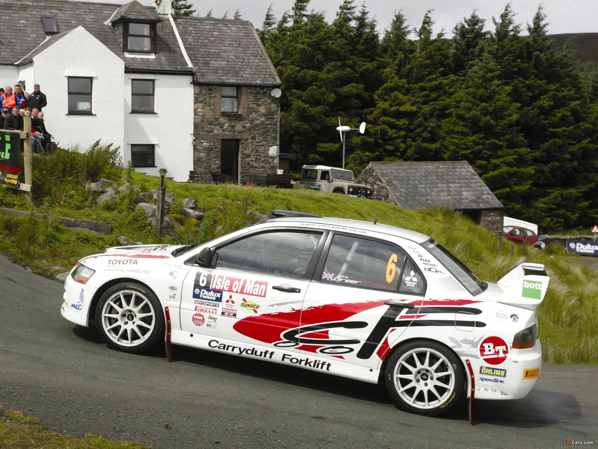 Mitsubishi Lancer Evolution IX Race Car 2005–07 pictures (2048x1536)