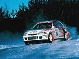 Mitsubishi Lancer Evolution II Rally Version wallpapers