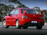Photos of Mitsubishi Lancer Evolution IX UK-spec 2005–07
