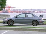 Photos of Mitsubishi Lancer Evolution VIII MR US-spec 2005–06