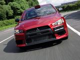 Photos of Mitsubishi Lancer Evolution X Group N 2007