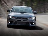 Photos of Mitsubishi Lancer Evolution MR US-spec 2008