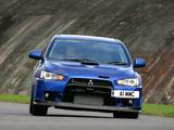 Photos of Mitsubishi Lancer Evolution X FQ-400 2009