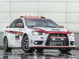 Photos of Mitsubishi Lancer Evolution Pikes Peak Safety Car 2013