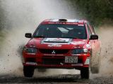 Pictures of Mitsubishi Lancer Evolution IX Race Car 2005–07
