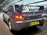 Pictures of Mitsubishi Lancer Evolution IX MR FQ-360 Final Edition 2007