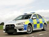 Pictures of Mitsubishi Lancer Evolution X Police 2008